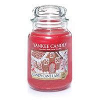 Yankee Candle Candy Cane Lane Medium Jar Candle []