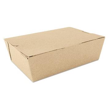 Sct ChampPak Carryout Boxes, 3lb, 7 3/4w x 5 1/2d x 2 1/2h, Brown