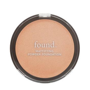 FOUND Mattifying Powder Foundation with Rosemary, 140 Medium, 0.28 fl oz