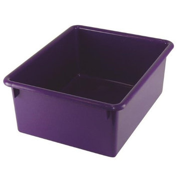 Romanoff Products, Inc. Romanoff Products ROM16106BN 13 x 10.5 x 5 in. Stowaway Purple Letter Box No Lid - 4 Each
