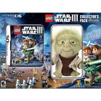 Lucasarts Entertainment Company Star Wars with Yoda Plush NDS