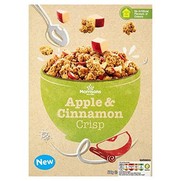 Morrisons Apple & Cinnamon Crisp Granola 500g
