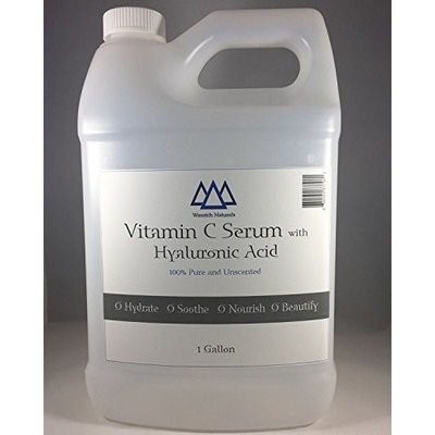Vitamin C Serum with Hyaluronic Acid 1 Gallon Unscented (Wasatch Naturals)