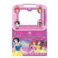 RDS Industries Disney Princess Learning to Count Book
