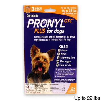 Sergeant's Sergeants 004SER-23-44 Pronyl Otc Plus For Dogs