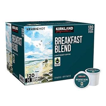 Kirkland Signature Breakfast Blend K-cup, 120 Count [Breakfast Blend]
