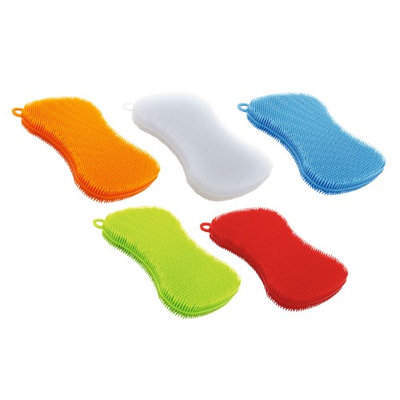 Kuhn Rikon Stay Clean Scrubber Sponge, Set Of 5