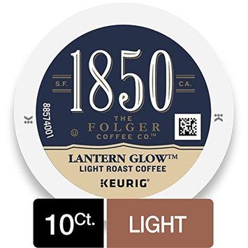 1850 Lantern Glow, Light Roast Coffee, K-Cup Pods for Keurig Brewers, 10 Count [Light Roast]