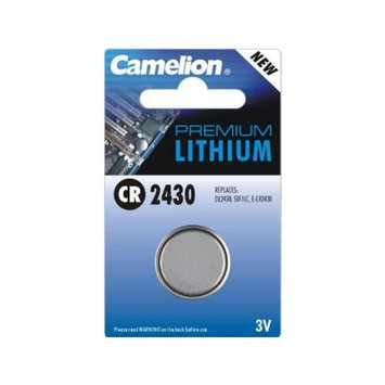 Camelion Cr2430 3v Lithium Coin Cell Battery Dl2430 Br2430 Lf1/2w