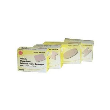 """Adhesive Fabric Bandages, 2"""" x 4"""" (x-Large)"""