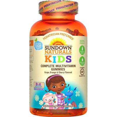 Nature's Bounty Sundown Naturals ® Kids Disney Doc McStuffins ® Complete Multivitamin, 180 Gummies