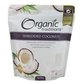 Organic Traditions Shredded Coconut 8 oz