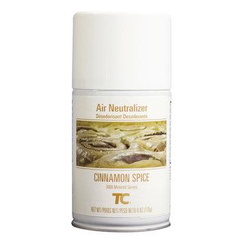 Rubbermaid Commercial Microburst 3000 Air Freshener Refill, Cinnamon Spice, 6 oz Aerosol, 12/Carton