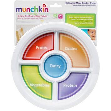 Munchkin Inc Munchkin Toddler Balanced Meal Plate, BPA-Free