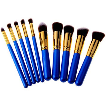Bliss & Grace Professional 10 Piece Kabuki Brush Set