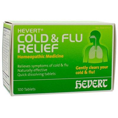 Hevert Pharmaceuticals, Hevert Cold & Flu Relief 100 tabs