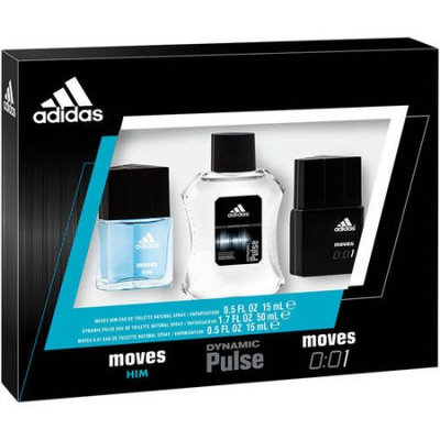 Adidas Men's Cologne Collection Gift Set, Multicolor
