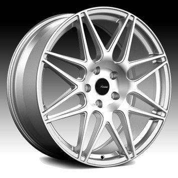 Advanti Racing CL Classe Machined Silver 20x10 5x120 30mm (CL0152030S)