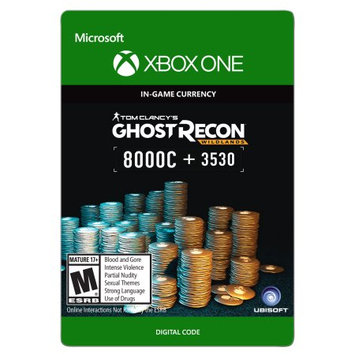 Incomm Xbox One Tom Clancy's Ghost Recon Wildlands Currency pack 11530 GR credits (email delivery)