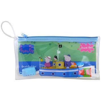 Brush Buddies, Peppa Pig, Toothbrushing Travel Kit, 3 Piece Kit