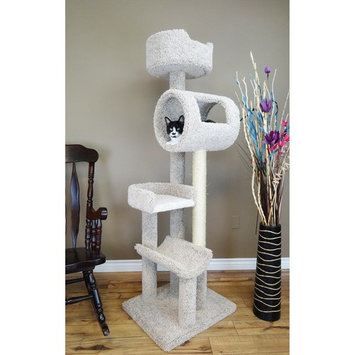Cat Condos 69 in. Deluxe Cat Play Loft