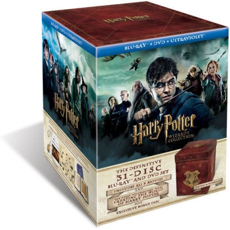 Warner Brothers Harry Potter Wizard's Collection (Blu-ray/DVD)