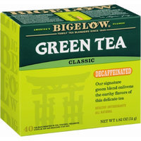 Bigelow Decaffeinated Green Tea, - Pack of 6