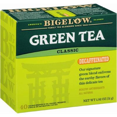 Bigelow Decaffeinated Green Tea, - Pack of 6
