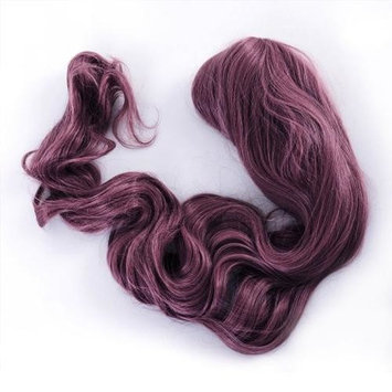 AGPtEK 40 Inches Heat Resistant Japanese Fiber professional Wig Long curly wave Lolita Cosplay Full Wig Hair Purple
