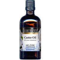 Castor Oil - 100% Pure, Cold Pressed and Cold Processed (1.70 fl oz, ZIN: 428357)