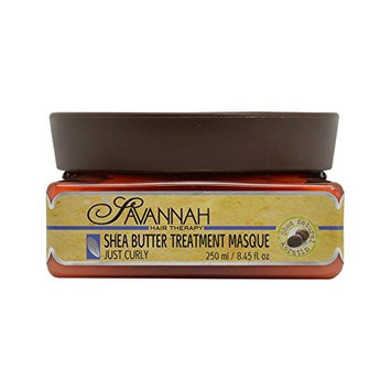 Savannah Shea Butter 8.5-ounce Treatment Masque for Curly Hair