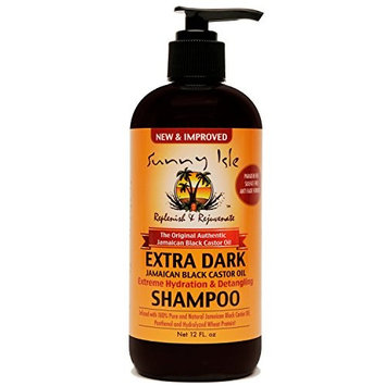 Sunny Isle Extra Dark Jamaican Black Castor Oil Extreme Hydration & Detangling Shampoo