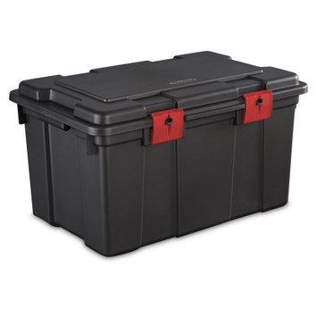 Sterilite Corporation Sterilite 16 Gallon Storage Trunk- Black (Available in Case of 4 or Single Unit)