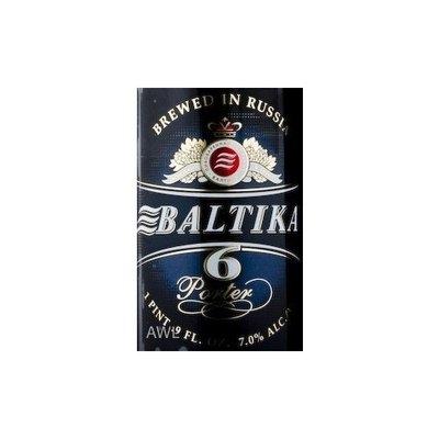 Baltika #6 Porter Dark 500ML