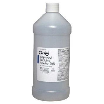 Orsini First Aid Antiseptic Isopropyl Rubbing Alcohol, 70% USP 32 Oz (Each)