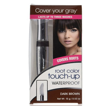 Tonewear Waterproof Cover Your Gray Touch-Up, Dark Brown, 0.53 Ounce