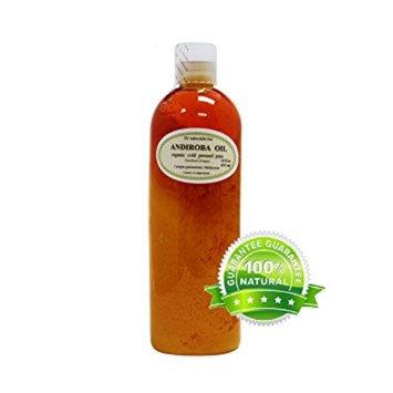 Dr. Adorable - 100% Pure Andiroba Oil Organic Cold Pressed Unrefined Virgin Natural Hair Skin Care - 16 oz