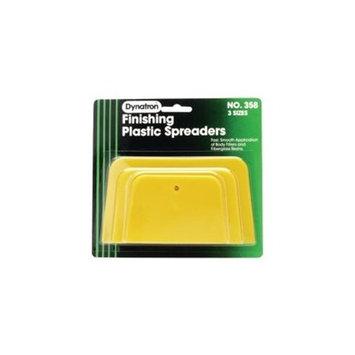 Dynatron Bondo 358 Dynatron Yellow Spreaders - 3 Pack Assorted