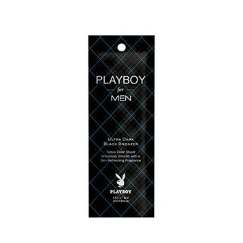 Lot of 3 Playboy For Men Bronzer Tanning Lotion Packets
