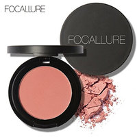 Binmer(TM) FOCALLURE Repair Capacity Powder Block Blush Exquisite Rosy Gloss Fine Outline (F)