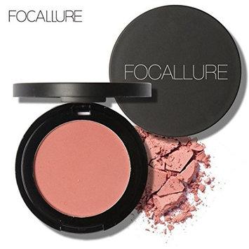 Binmer(TM) FOCALLURE Repair Capacity Powder Block Blush Exquisite Rosy Gloss Fine Outline (F)
