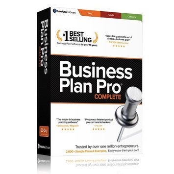 Palo Alto Software, Inc. Palo Alto Business Plan Pro Complete - Business Planning - CD-ROM - PC
