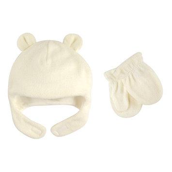 Toddler Unisex Fleece Hat & Mittens 2pc Set