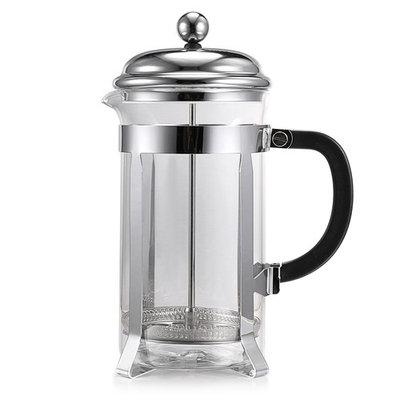 1000ml Press Coffee Tea Maker Press Stainless Steel Glass Material Pot HITC