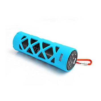 PyleHome PWPBT30BL Bluetooth Water Resistant Flashlight Speaker Blue