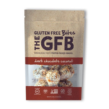 The GFB Protein Bites, Dark Chocolate Coconut, 4 Ounce (Pack of 6), Gluten Free, Non GMO