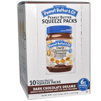 Peanut Butter & Co Peanut Butter Squeeze Packs Dark Chocolate Dreams® -- 10 Packs
