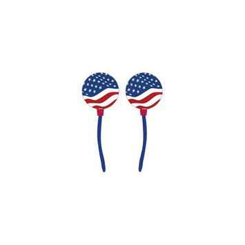 Digitat DCWF003 High Quality Stereo Graphically Enhanced Ear Buds with In-Ear Comfort Design, Wavy F