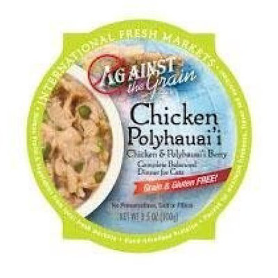 Against the Grain Chicken and Pollyhauai Berry Dinner Wet Cat Food