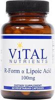 Vital Nutrient's Vital Nutrients, R-Form Lipoic Acid 60 Vegetable Capsules